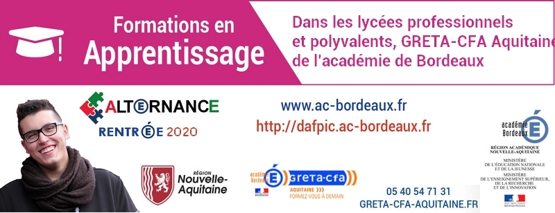 Apprentissage 2019-2020