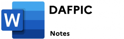 dafpic-notes